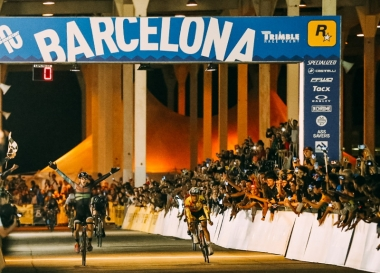 Ash Duban y David Van Eerd conquistan el podio de Red Hook Crit Barcelona