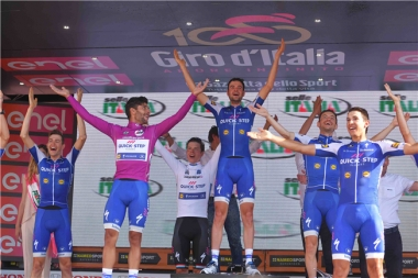 Quick-Step Floors concluye un Giro Memorable